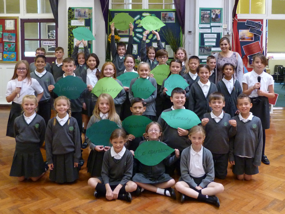 Our class assembly was about School Values. Click on the news link to see more.