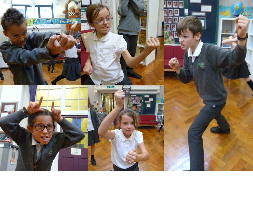 Some fierce Vikings took over our drama session!