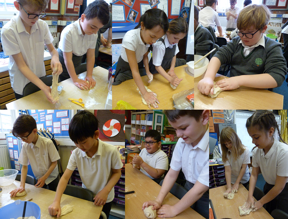 We loved our bread making day. Click on the news link to see more.