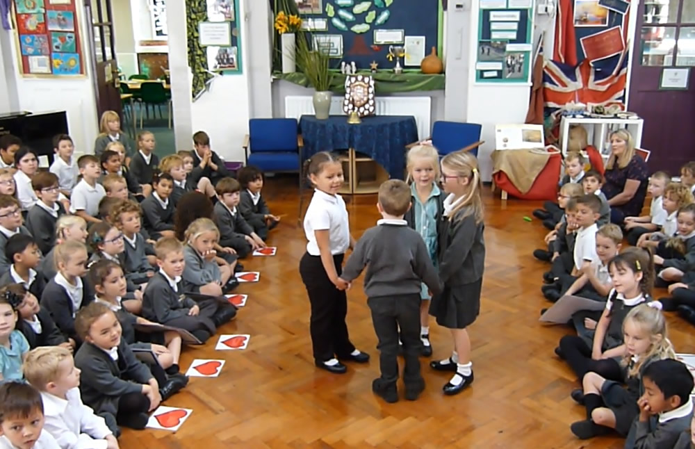 Our class assembly was about what makes a good friend. Click on the news link to see more.