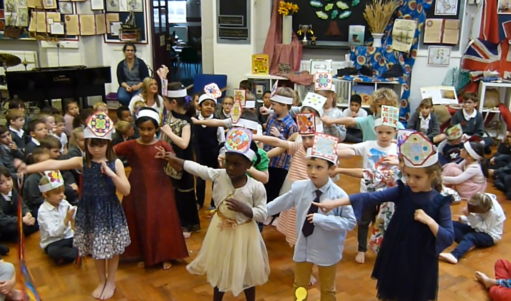Our class assembly was about Diwali. Click on the news link to see more.