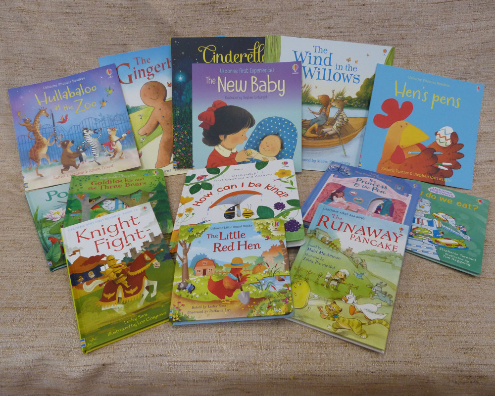 We have some lovely new books for the Nursery, bought with money from the Book Week sponsored read.