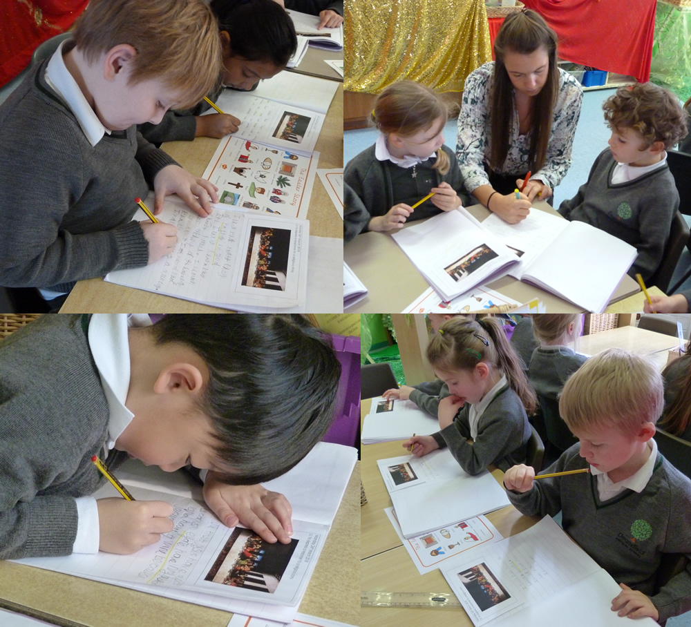 Responding to a picture in RE.