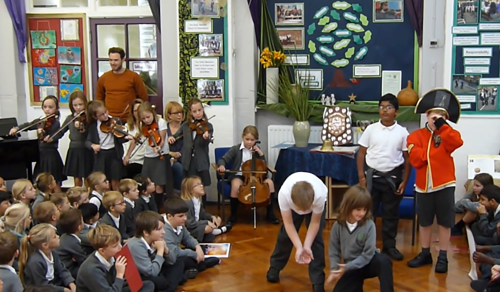 Our class assembly was about Nelson. Click on the news link to see more.