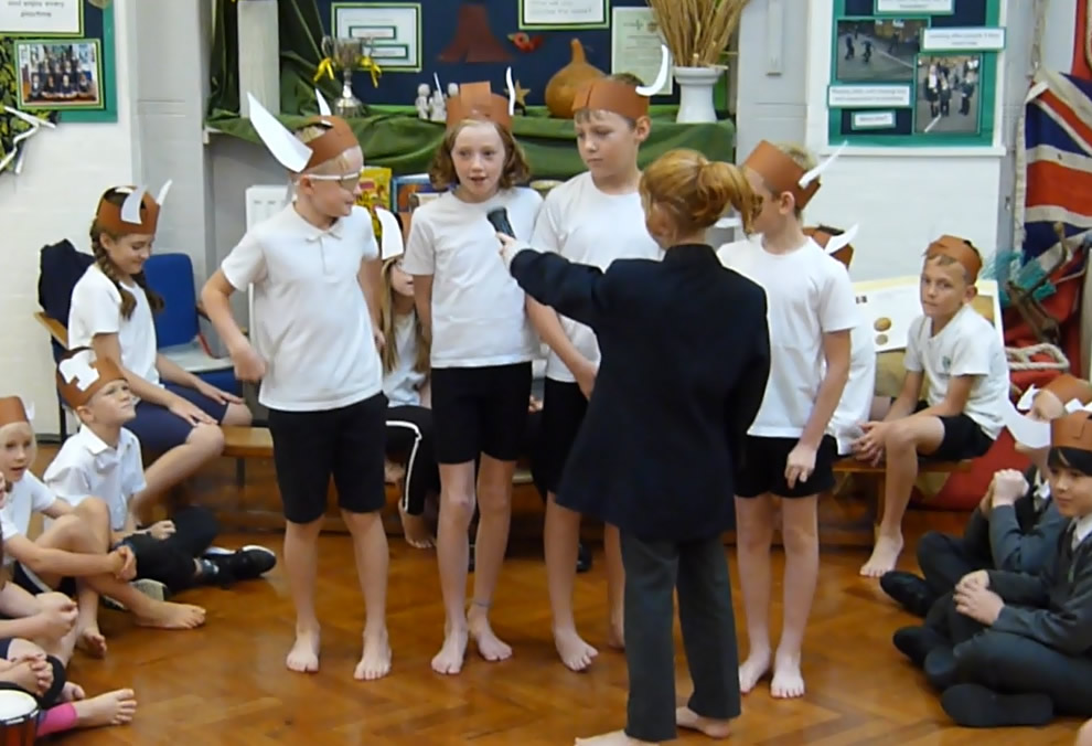 Our class assembly was about The Vikings. Click on the news link to see more.