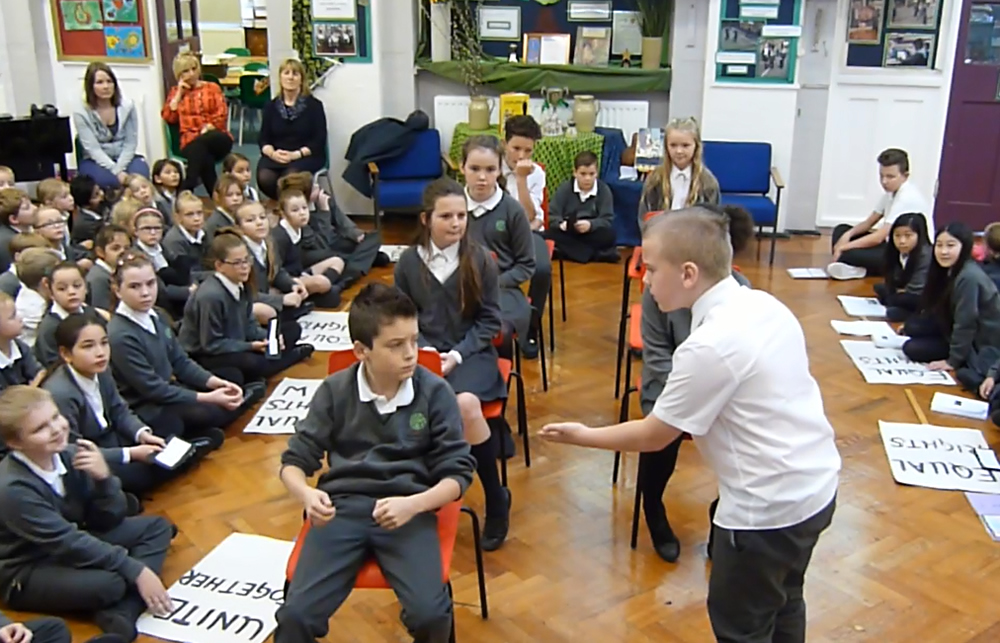 Our class assembly was about the Civil Rights Movement in America. Click on the news link to see more.