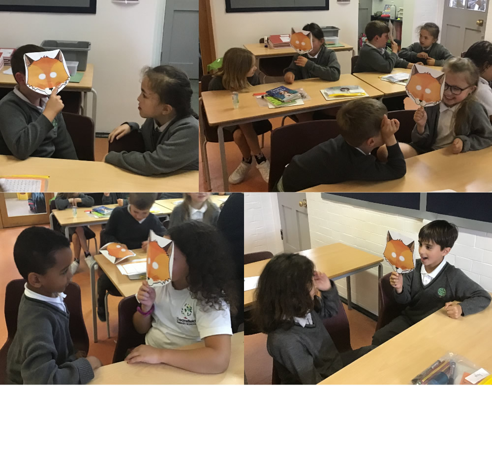 Trying out different techniques of persuasion on Fantastic Mr Fox.