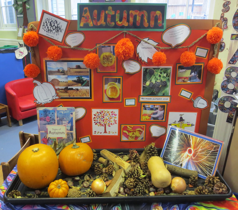We have been finding out about Autumn.