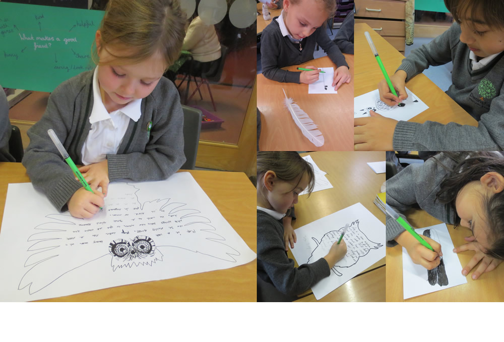 Publishing and illustrating work on The owl who was afraid of the dark.