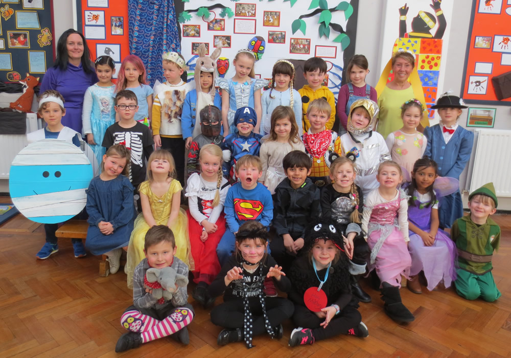 We were so excited on Book Day as we dressed as a book character.