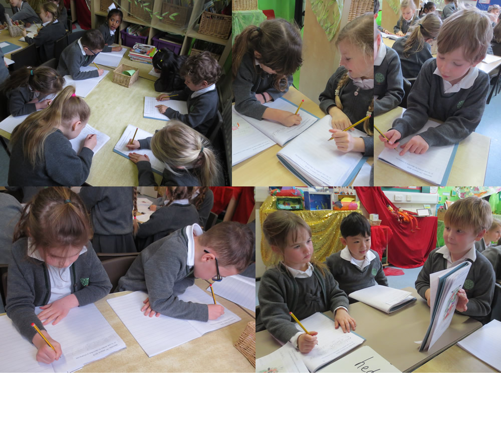 We are as busy as bees working on similes.