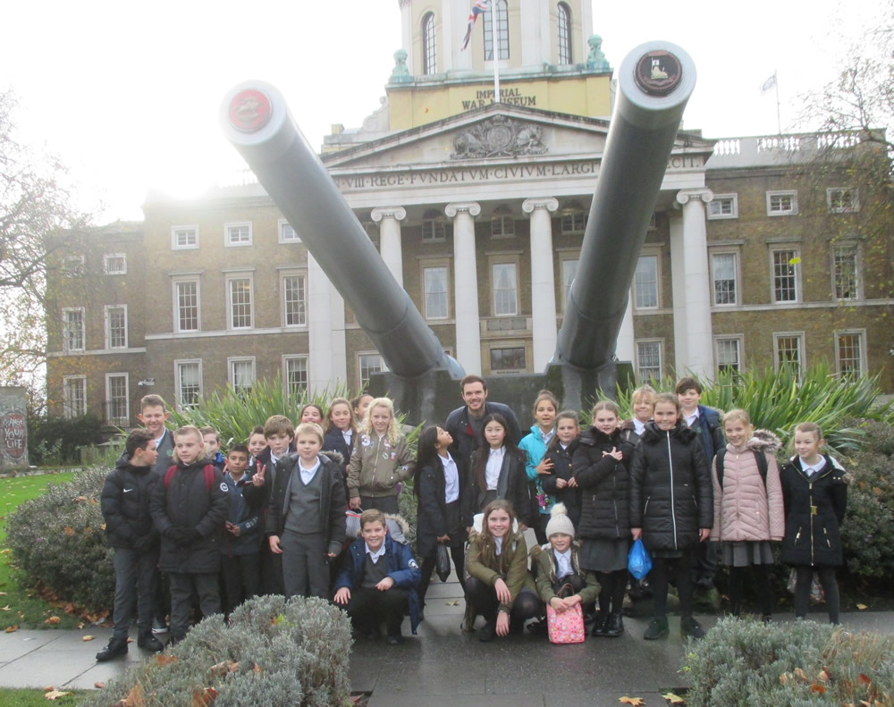 Our visit to The Imperial War Museum.