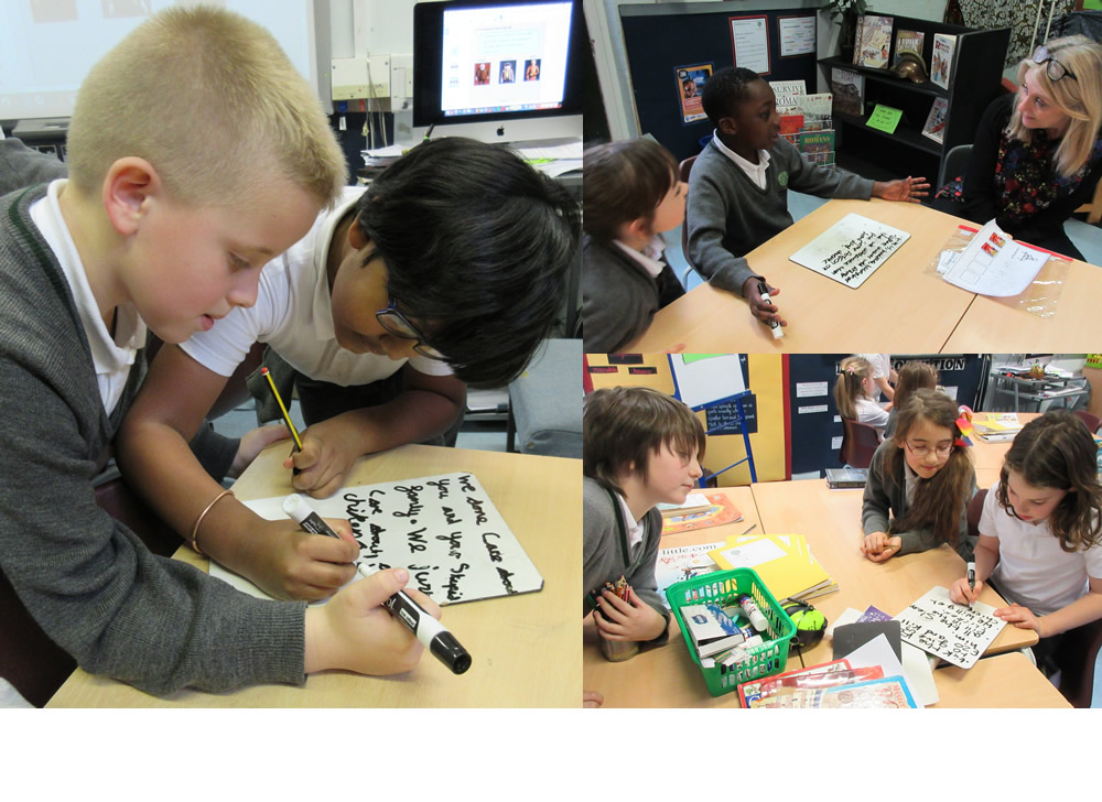 Creating words for the farmers in Fantastic Mr Fox.