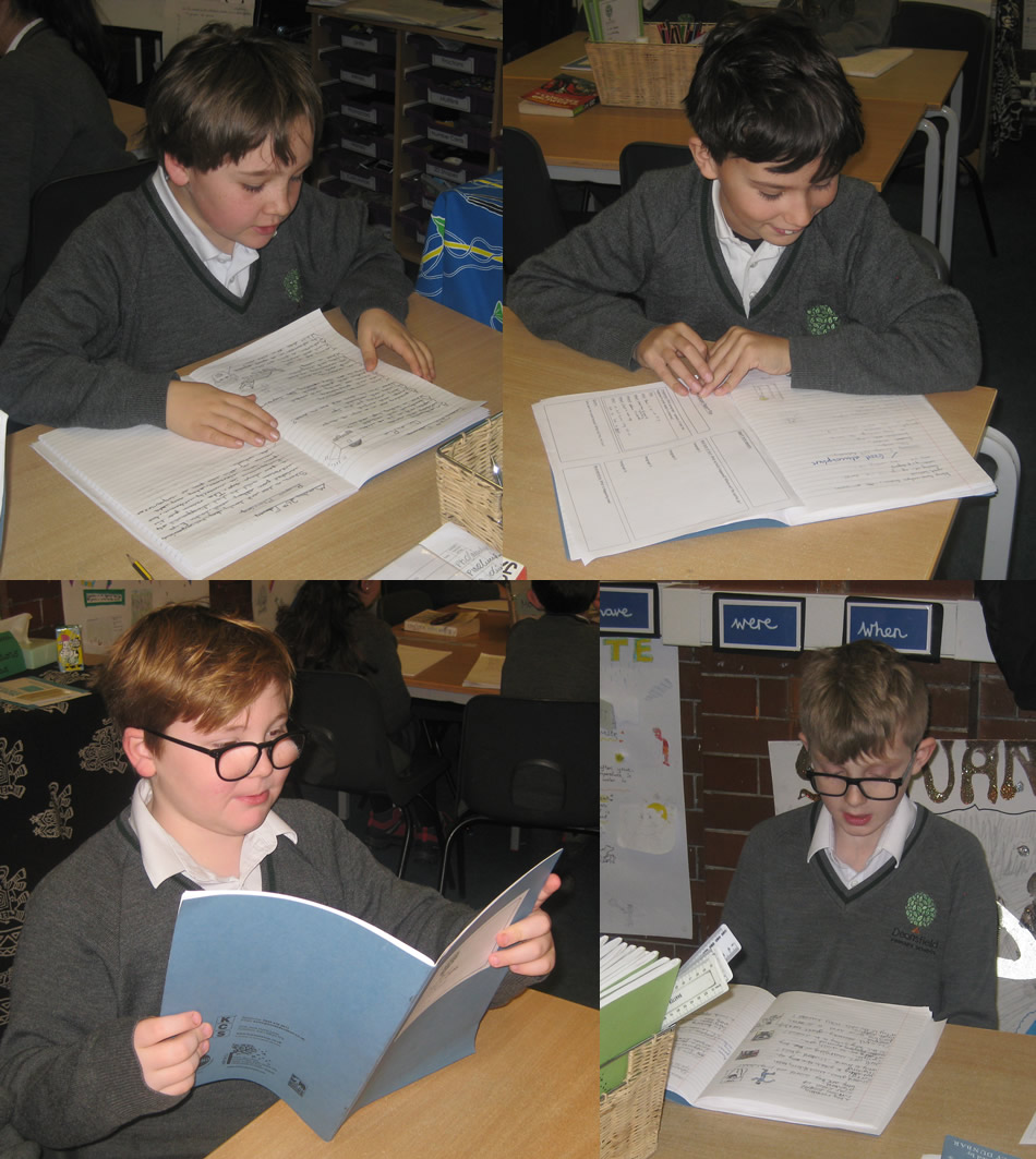 We wrote poems inspired by Way Home by Libby Hathorn.