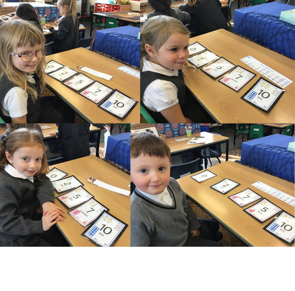 It's tricky ordering numbers when some are missing!