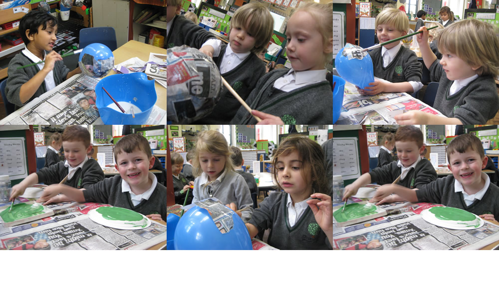 Getting our Blue Planet display ready. Come back later to see what we have made.