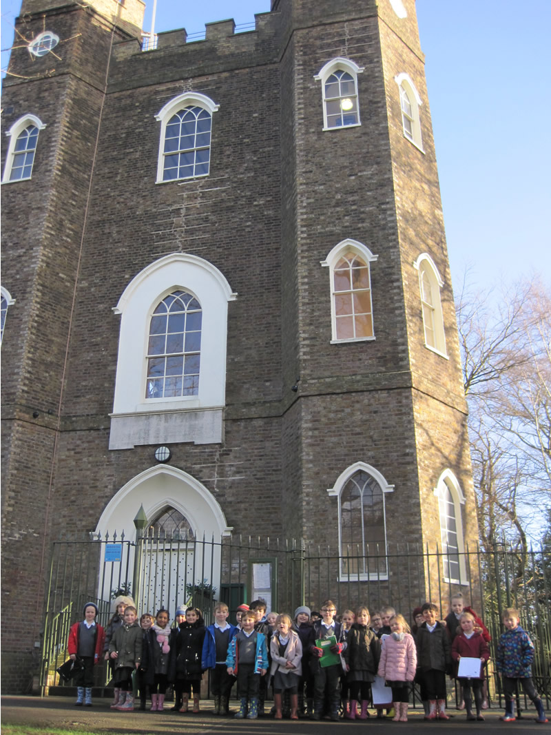 ... and Severndroog Castle.