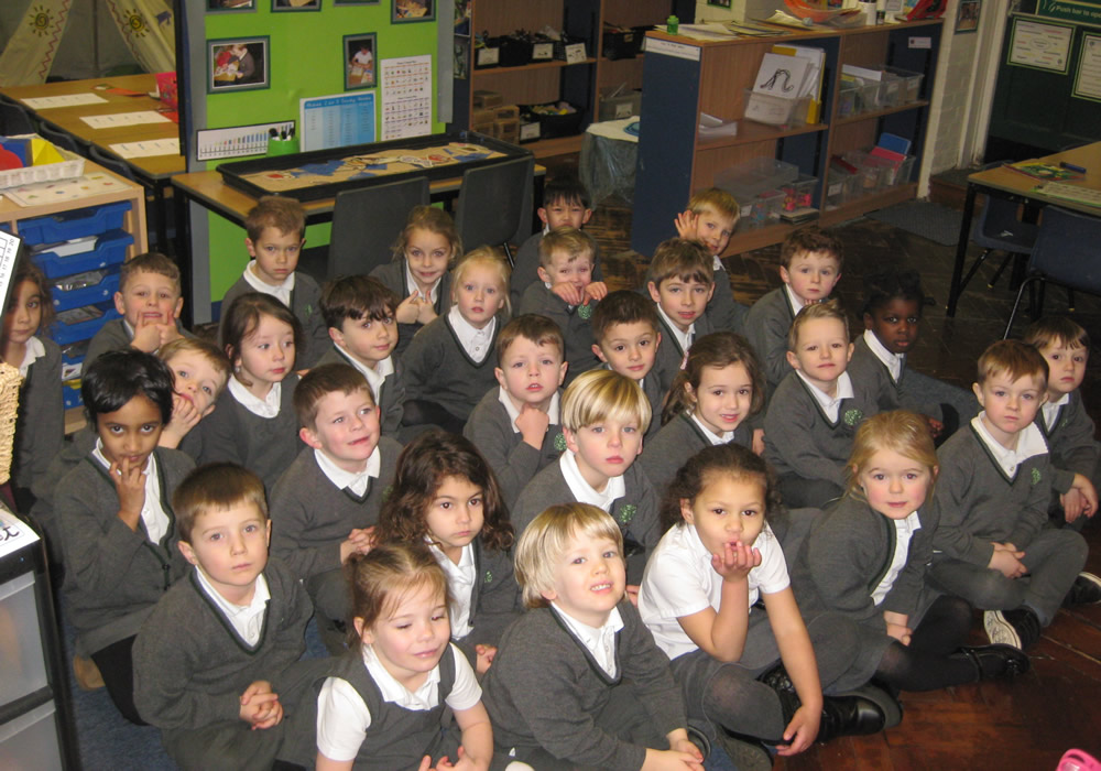 Back at school and ready for a busy term.