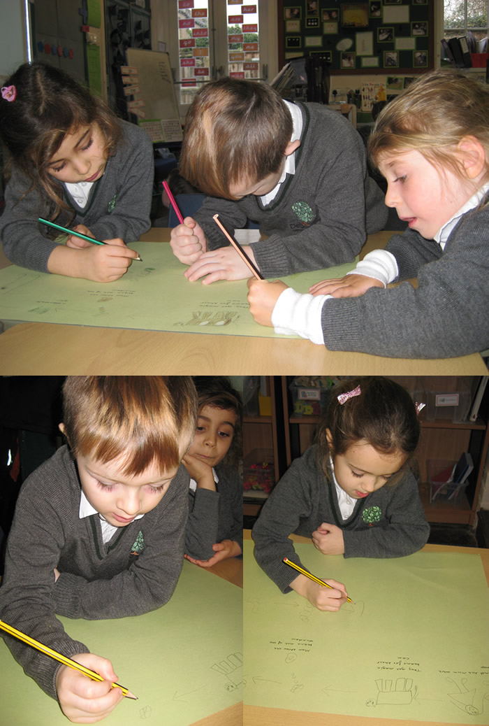 Sequencing the story of Jack and the beanstalk.