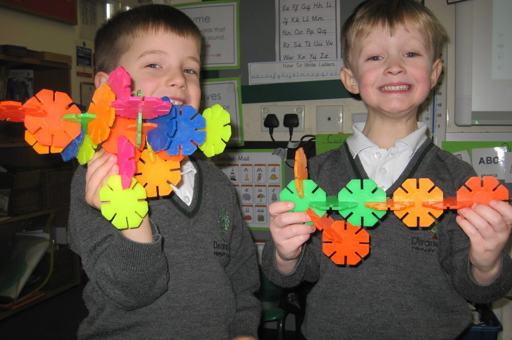 Creative construction.