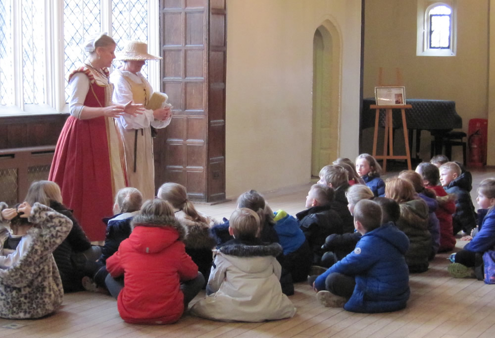 Our visit to Hall Place was about The Tudors. Click on the news link to see more.