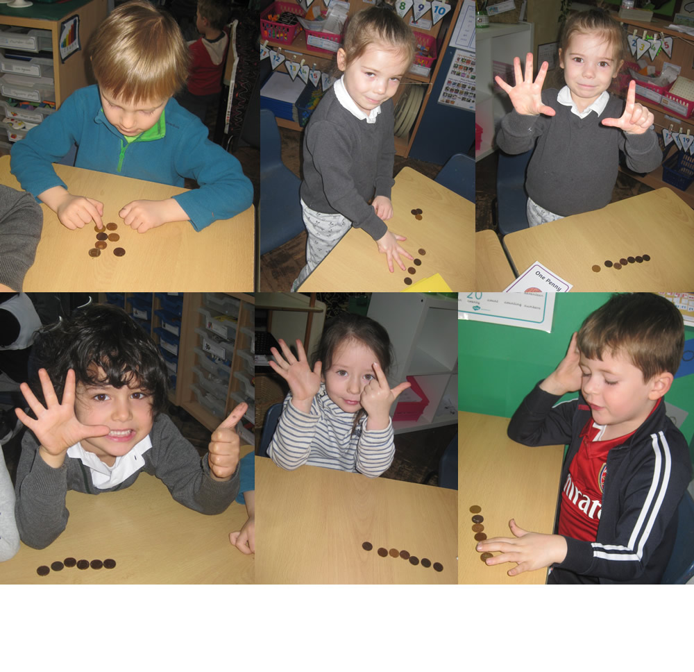 Counting the pennies!