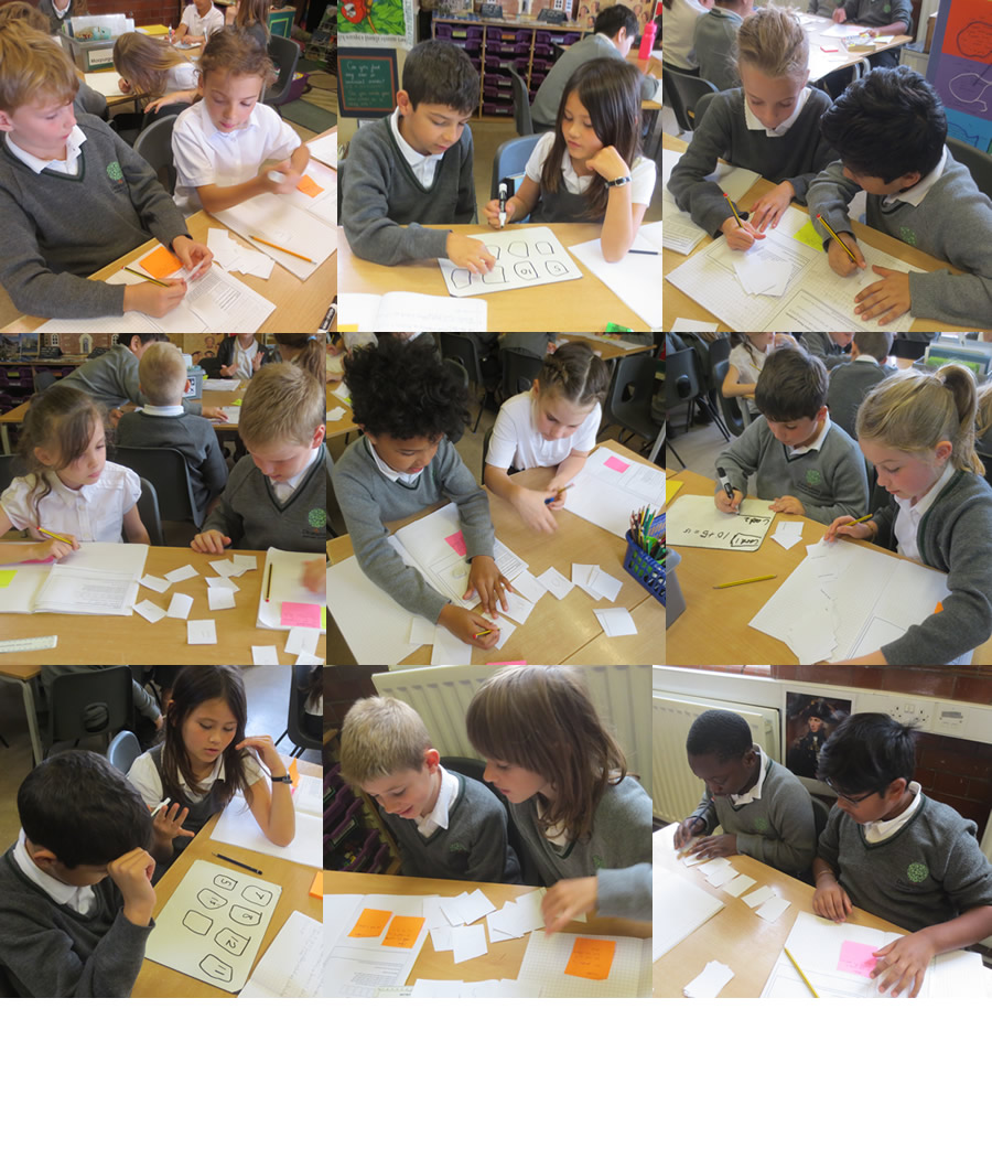 We used metacognitive skills to solve our maths challenge.