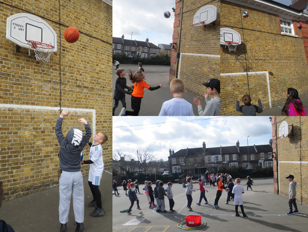 Aiming to be record breakers on Sport Relief Day.