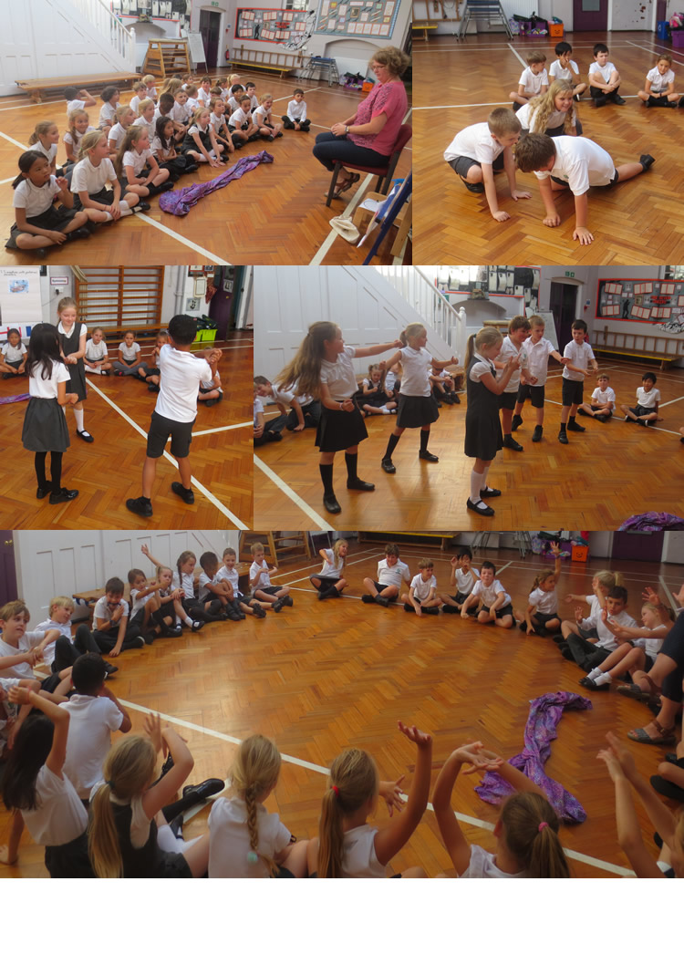 We explored the story of The Fighting Temeraire and freeze framed scenes.