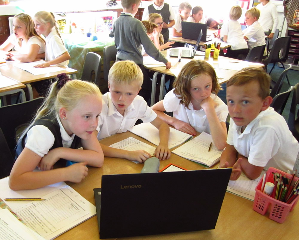 We used the National Schools' Observatory website ...