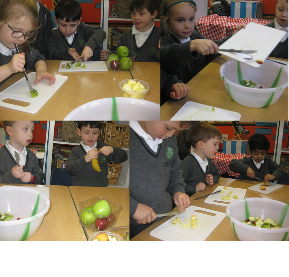 Anyone for fruit salad? RA have healthy snacking sorted.