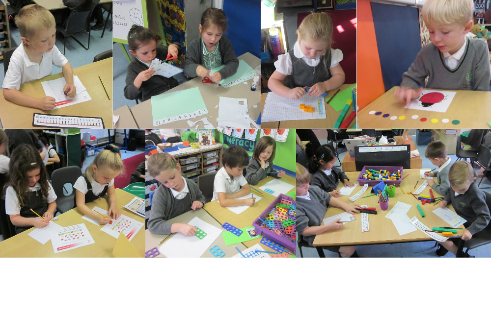 Busy mathematicians.