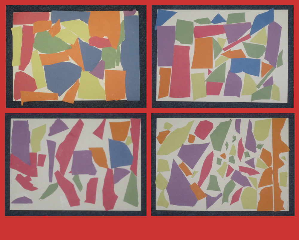 Some of our Matisse inspired masterpieces.