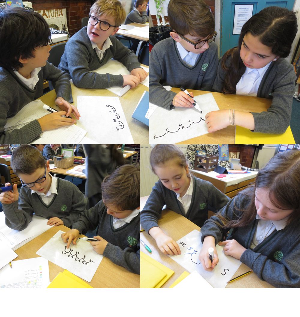 Recognising and describing number sequences involving positive and negative numbers.