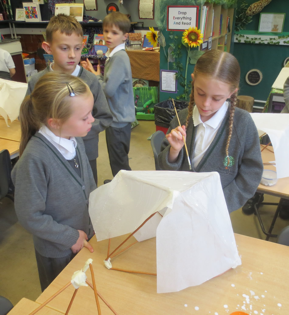 It was tricky making the lanterns for Eltham Lights Up. We're looking forward to the parade. Click on the News link to see more pictures.