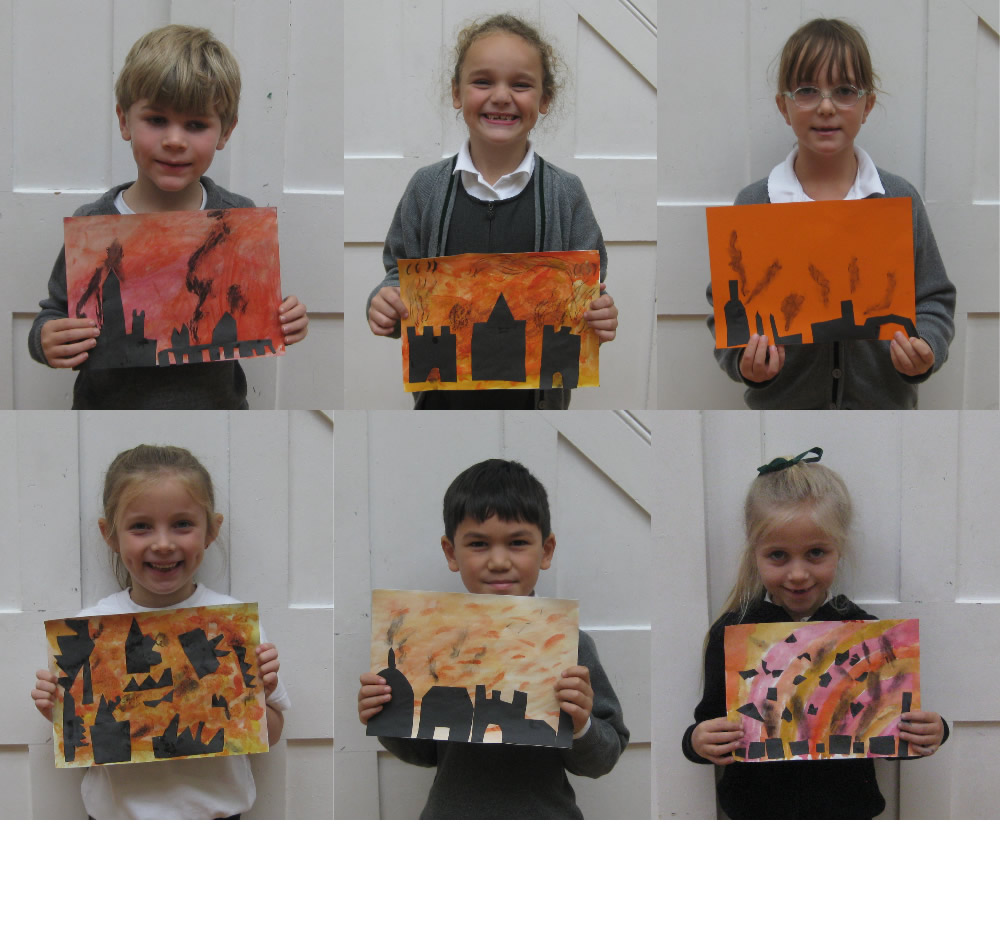 Some of our super Great Fire of London pictures.