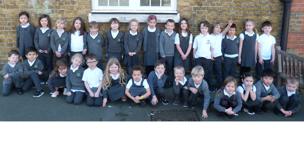 Good to see all these smiley faces in school together again!