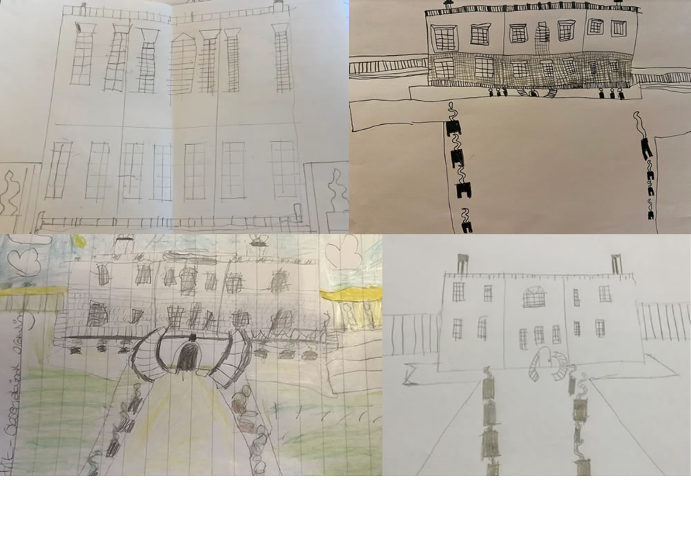 Some sketches of The Queen's House.