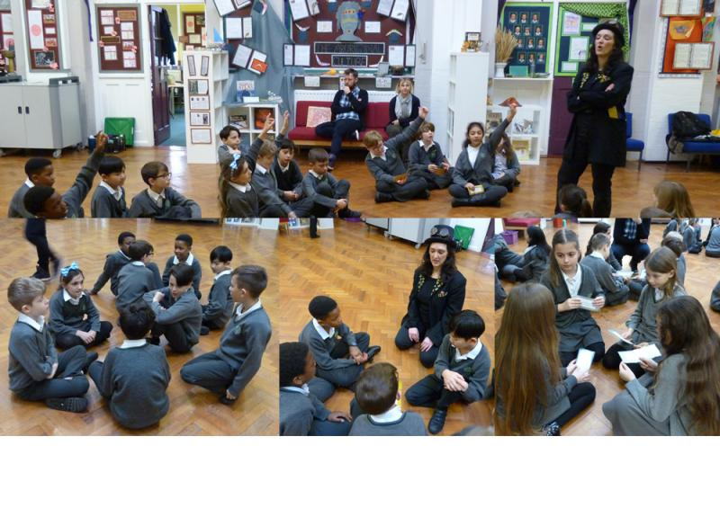 A debate - who was braver the ruler or the warriors?