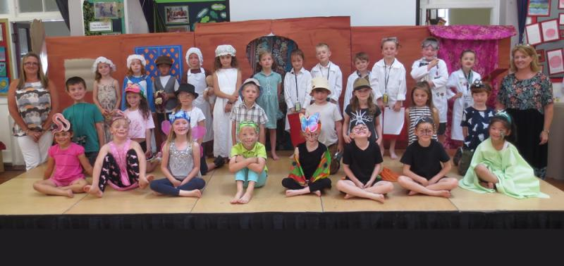 Well done, Class 1W. A really interesting assembly.
